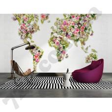 Интерьер Urban Flowers  Артикул 470808 интерьер 1