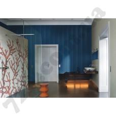 Интерьер Miracle 2014 Прихожая в синебежевых цветовых оттенках