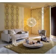 Интерьер Emocion 2013 обои для гостинной бежево- коричневых тонах