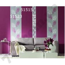 Интерьер Panels Обои Panels для гостиной. Фиолетовое дерево51523 51515 51528