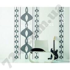 Интерьер Panels Обои Panels для зала Черно-белая спираль 51545 51501 51549