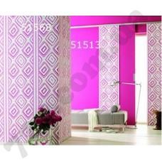Интерьер Panels Обои Panel для прихожей Розовый ромб 51568 51513