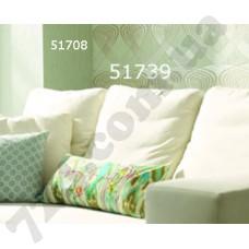 Интерьер At home Обои At home для гостинной Зеленая геометрия 51708 51739