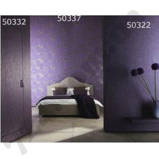 Интерьер Ravenna Обои Ravenna для спальни Фиолетовые цветы 50332 503375 0322