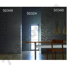 Интерьер Ravenna Обои Ravenna в столовую фиолетовые и черные узоры50349 50324 50340