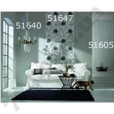 Интерьер Scandinavian Vintage Обои Scandinavian Vintage  для гостиной Серые в черную полоску 51640 51647 51605