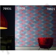 Интерьер The Wall Обои The Wall для офиса Сине-красные круги 78931 78926 78921