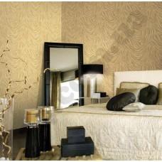 Интерьер Roberto Cavalli обои Emiliana Parati ROBERTO CAVALLI артикул 12048 в интрьере спальня комнаты в пастельных тонах