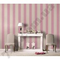 Интерьер Florentine 2017 розово-лиловая полоска