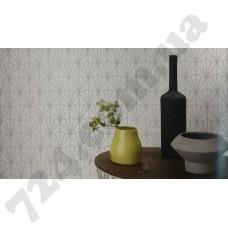 Интерьер Freundin геометрический рисунок на светлом фоне