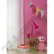Интерьер Bambino XVII розовые однотонные обои