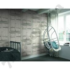 Интерьер Crispy Paper обои с изображением деревянных окон