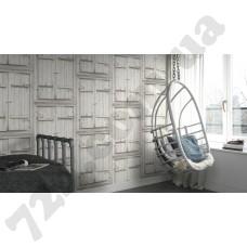 Интерьер Crispy Paper Белые обои 545014 в интерьере комнаты - производитель Rasch коллекция Crispy Paper