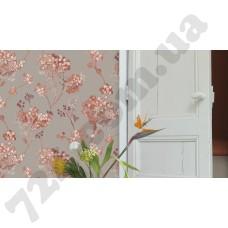 Интерьер Florentine 2017 Модные серые обои для стен Rasch с рисунком 449273 в интерьере, каталог Florentine 2017