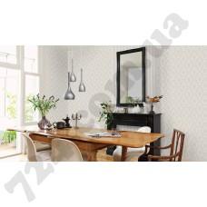 Интерьер Sophie Charlotte Sophie Charlotte 440232, 440539 Rasch в интерьере столовой