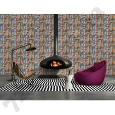 Интерьер Authentic Walls Артикул 301701 интерьер 2