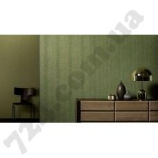 Интерьер Tango Dieter Langer  Обои под кожу змеи зеленого цвета каталога Tango от Marburg