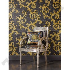 Интерьер Versace Wallpaper 2 Артикул 962316 интерьер 1