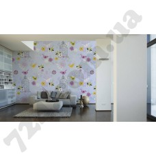 Интерьер Wallpaper Артикул 036810 интерьер 2