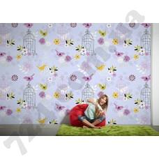Интерьер Wallpaper Артикул 036810 интерьер 4