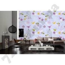 Интерьер Wallpaper Артикул 036810 интерьер 6