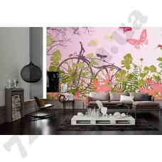 Интерьер Wallpaper Артикул 036910 интерьер 6