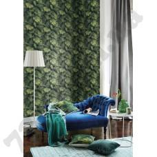 Интерьер b.b home passion VI обои с листьями
