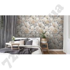 Интерьер Peonia обои с цветами для спальни