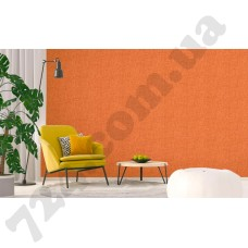 Интерьер Atmosphere new оранжевые обои под текстиль