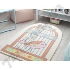 Коврик в детскую комнату Confetti Happy CageSalmon