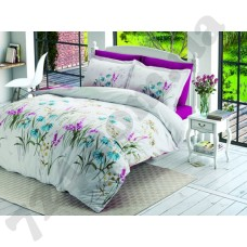 Комплект постельного белья Halley Home Flower v1