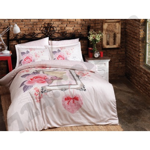 Halley Home Комплект постельного белья Halley Home Sevgim 01004458