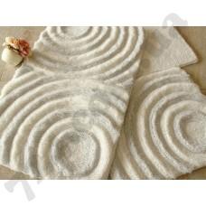 Коврик для ванной Chilai Home WAVEWHITE