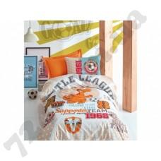 Подростковое постельное белье Cotton Box LITTLE TEAMTURUNCU