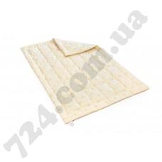 Одеяло шерстяное Mirson 0023 Gold Camel 220х240 деми (2200000018618)