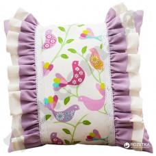 Подушка декоративная Ярема 45*45см. розовая