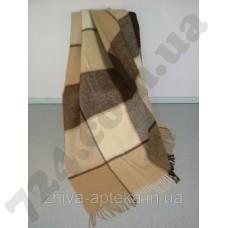 Плед Klippan Saule 170x210 см кофейный