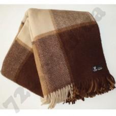 Плед Klippan Saule 170x210 см коричневый