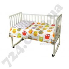 Детское постельное белье Руно Совы сатин