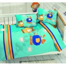 КПБ Class (Bahar teksil) для новорожденных Sky v2 Turkuaz