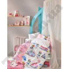 КПБ Cotton box новорожденных ранфорс Sevimli Seyahat