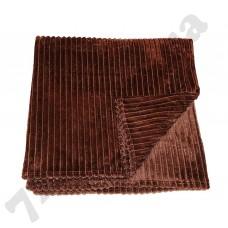 Плед Goldentex MC-324 коричневый