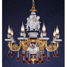 Артикул света: Люстра Wunderlicht Porcelanova WLCL1564-8K45