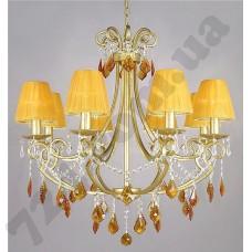 Артикул света: Люстра Wunderlicht Amber Room WL61587-8C64