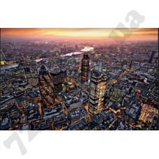 Артикул обоев: 640 Лондон с высоты птичьего полета