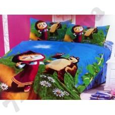 Детское постельное белье Shining Star Маша и Медведь