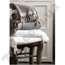 Полотенце Barine  Rib gri серый 43,5*90см.