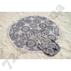 Пляжное полотенце Begonville. Lace 4, Ø 150 см