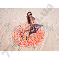 Пляжное полотенце Begonville. Ripple 3, Ø 150 см