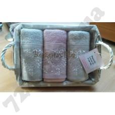 Набор махровых  полотенец Begonville Lauren-15 50*30см.